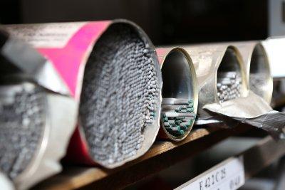 Ablage unseres Lichtbogenhandschweiß Materials
