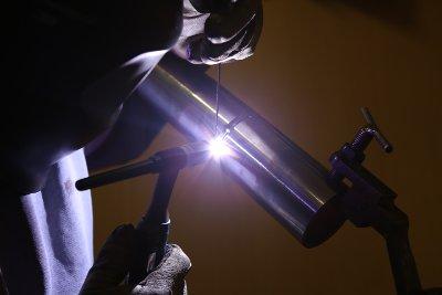 Wolfram-Inertgas-Schweißen zu Ausbildungszwecken