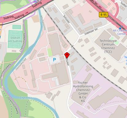 Unser Firmenstandort in Chemnitz