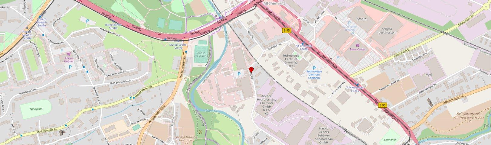 Zweigstelle der Techno Metall Michalk GmbH in Chemnitz